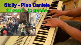 Sicily - Pino Daniele - Instrumental Cover for Karaoke by Aldo Piancone