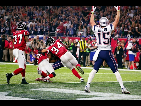 Super Bowl 51   New England Patriots Chris Hogan Highlights