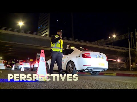 A Night On The Road With Israel's Police Force