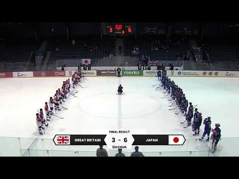 2020 IIHF Ice Hockey U20 World Championship Division II Group A Great Britain – Japan