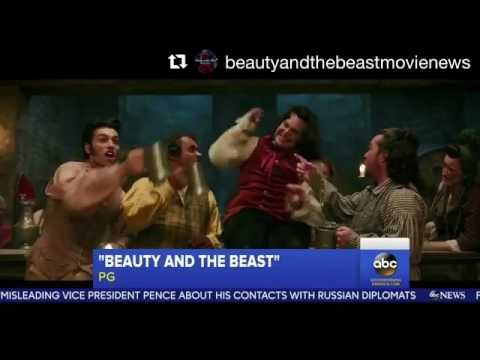 Gaston song Beauty and the Beast 2017 live action preview Luke Evans and Josh Gad