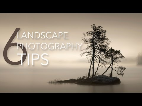 MY 6 or 7 Top LANDSCAPE photography TIPS