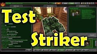 Tanki Online - Test | Nova Torreta Striker - Gameplay #6