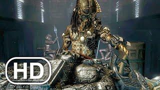 Хищник находит древнюю броню. Сцена в маске 4K ULTRA HD - Пришельцы против хищника