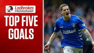 Decisive Free kicks and a Lawless Rocket! | Top Five Goals Week 5 | Ladbrokes Premiership