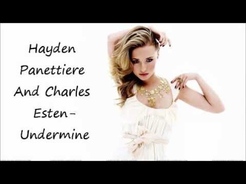Hayden panettiere Ft. Charles Esten-Undermine(Audio)