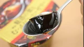 弾力のある「明治魅惑の蜜とむっちりコーヒーゼリー」をぷるぷるさせてみた thumbnail