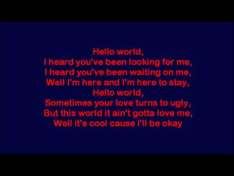 Diggy - Hello World Lyrics HD