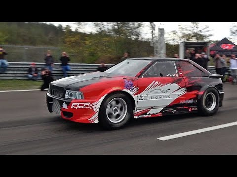 1500HP Audi S2 Turbo Acceleration Sound  ☢ Tuning By Leci Racing ☢
