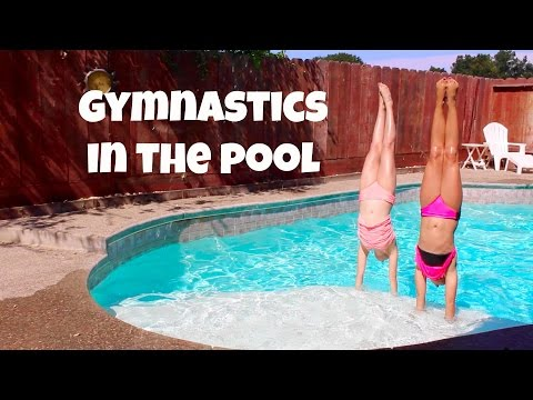Gymnastics in the Pool