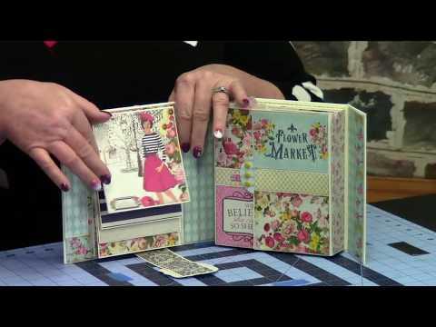How to Create Scrapbook Mini Albums