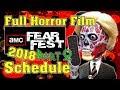 AMC FEAR FEST 2018: Full Horror Film Schedule!! (PART 2)