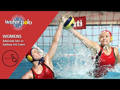 Adelaide Jets vs Sydney University Lions | Womens | National Water Polo League