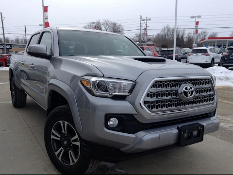 NEW 2017 Toyota Tacoma Dbl Cab TRD Sport Review Silver ...