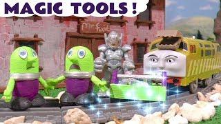 Funny Funlings Magic Tools toy story with Ultron and Thomas and Friends trains TT4U