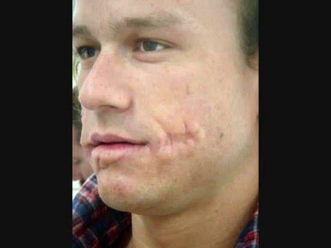 Heath Ledger The Joker No Makeup Youtube - Joker-no-makeup-ics