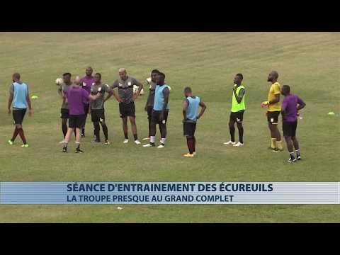 CAN 2019 : les Ecureuils au grand complet avant d'affronter le Togo dimanche prochain