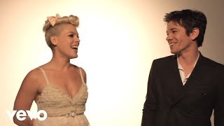 Video P!nk - Just Give Me A Reason (Behind The Scenes) ft. Nate Ruess download MP3, 3GP, MP4, WEBM, AVI, FLV November 2018
