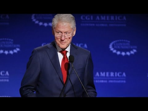 Bill Clinton dismisses controversy over family foundation