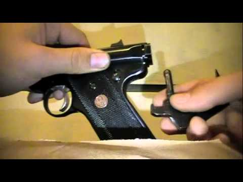 Ruger MK II & III DisassemblyReassembly EASY pt 13  YouTube
