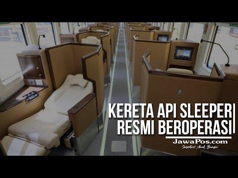 Kereta Api Sleeper Resmi Beroperasi