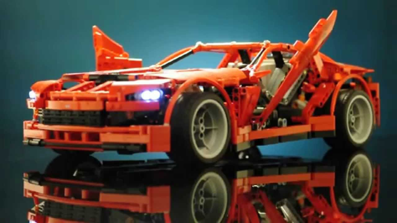 lego technic 8070 supercar motorized rc review youtube. Black Bedroom Furniture Sets. Home Design Ideas