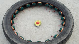 Tyre k andar Sutli ke circle mey Chakri