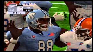 NCAA College Football 2K3 Florida vs North Carolina Part 1