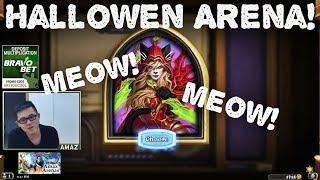 Hearthstone Arena - [Amaz] Hallowen Arena! Rogue-Druid Run!