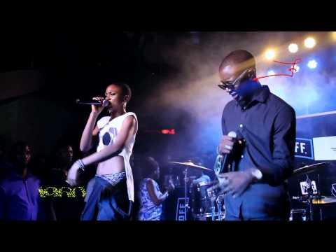 Eva Alordiah and Sir Dauda perform 'War Coming' (Industry Night, Lagos) April 2015