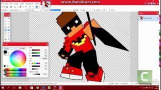 Speed Paint ( Minecraft Profil Fotoğrafı Nasıl Yapılır ? )