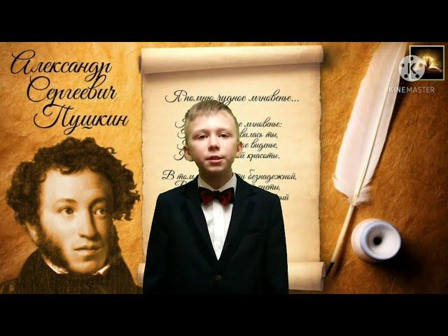 Изображение предпросмотра прочтения – СергейКозырь читает произведение «К *** (Я помню чудное мгновенье)» А.С.Пушкина