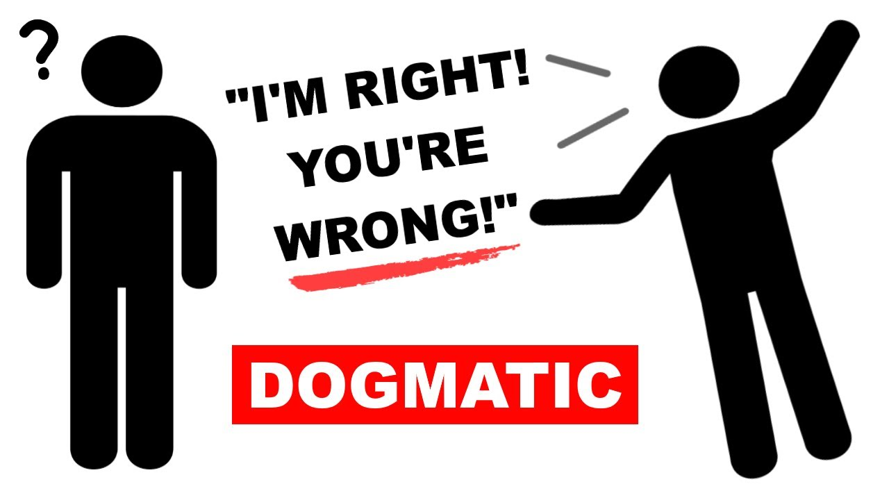 Learn English Words Dogmatic Meaning Vocabulary Lesson With