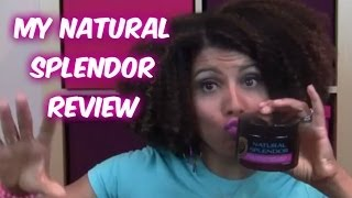 REVIEW: Natural Splendor Curl Cream - CurlyKimmyStar Thumbnail