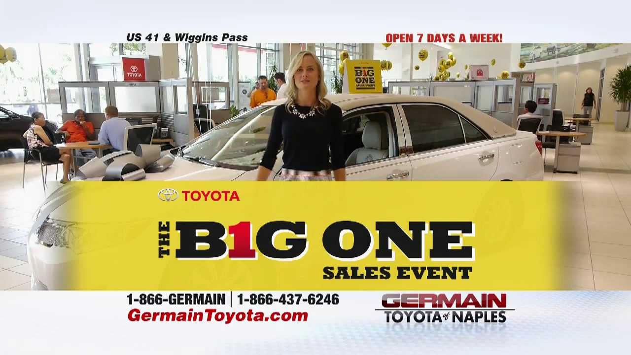 Germain Toyota Of Naples The Big One Sales Event