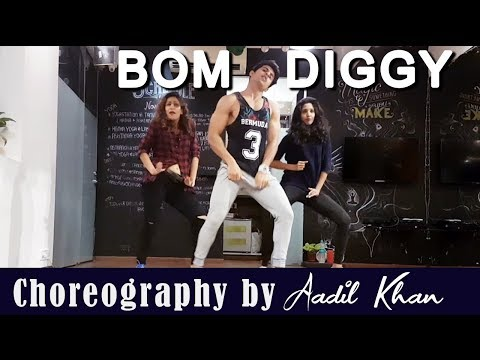 Bom diggy (Dance Video) | Zack night x jasmine walia | Aadil Khan Choreography | Girl Style Dance