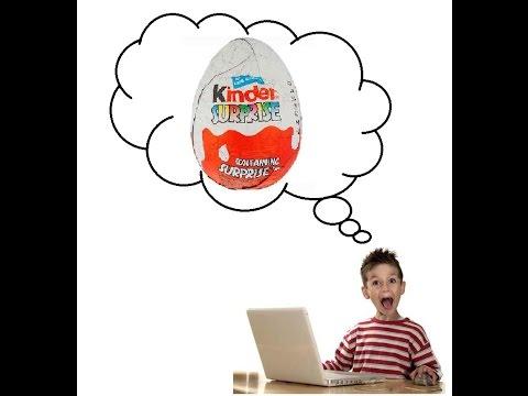 2015 Kinder Surprise Eggs   Kinder Surprise яйца  Новое видео