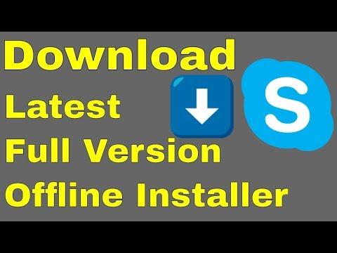How to Download Skype Latest Full Version offline Installer for windows 7 8 10 (2018) in Urdu/Hindi