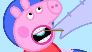 Świnka Peppa | U Dentysty | Bajki Po Polsku | Peppa po Polsku