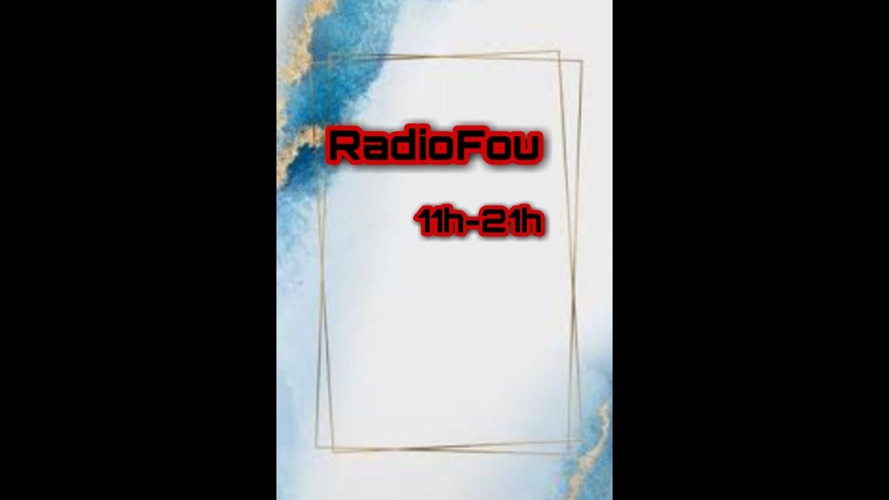 En direct sur RadioFou de 20h jusque 23h