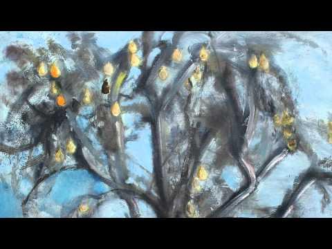 Sunflowers. Cornelia Margan`s painting.mpg