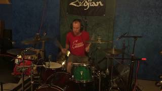 """Slipknot """"Get This (Or Die)"""" drum cover for our parody """"Give Thanks or Die"""" Psychostick"""