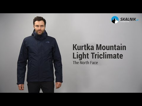 Kurtka 3w1 mountain light triclimate men asphalt grey