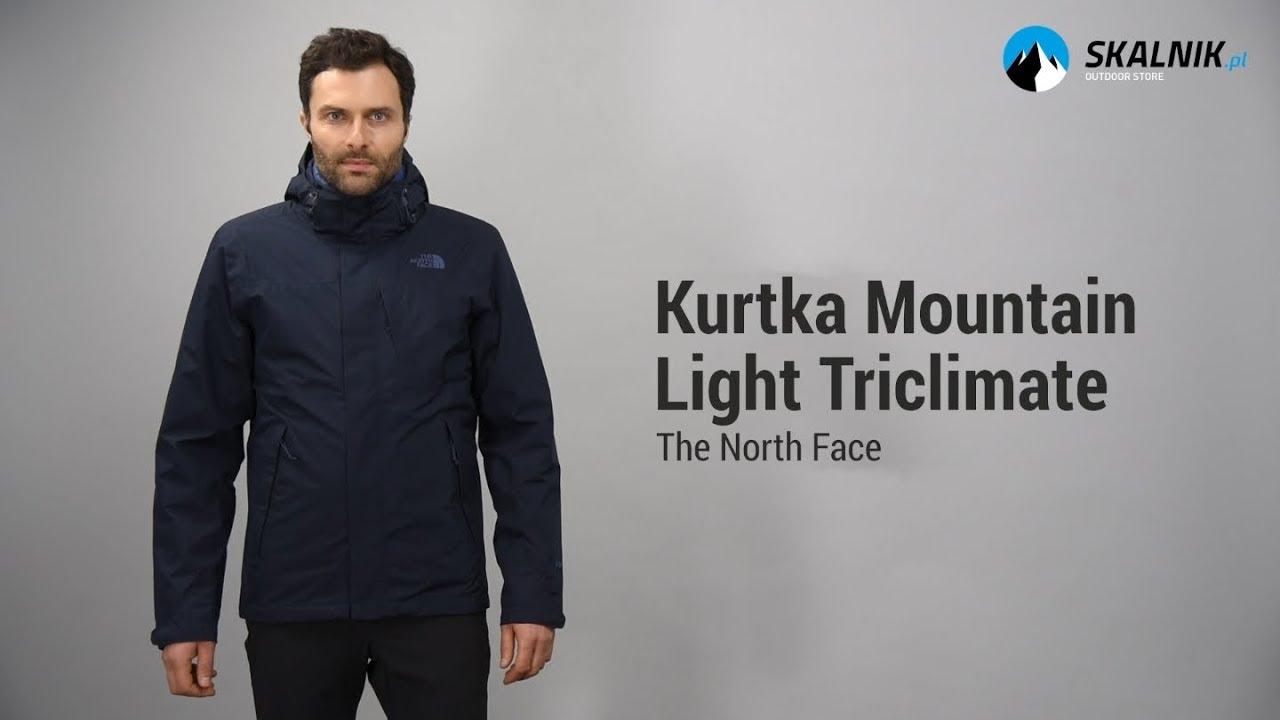 8ea24fd63a Kurtka The North Face Mountain Light Triclimate - skalnik.pl - YouTube
