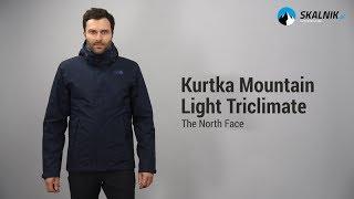 Kurtka The North Face Mountain Light Triclimate - skalnik.pl