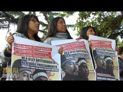 Indígenas Mapuches Luchan contra el Estado Chileno y Compañías Privadas