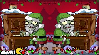 Plants Vs Zombies 2: Snowball Fight Christmas Feastivus Pinata party 12/22!