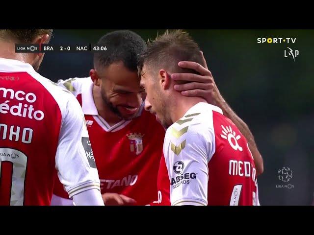Goal | Golo Iuri Medeiros: SC Braga (2)-0 CD Nacional (Liga 20/21 #4)