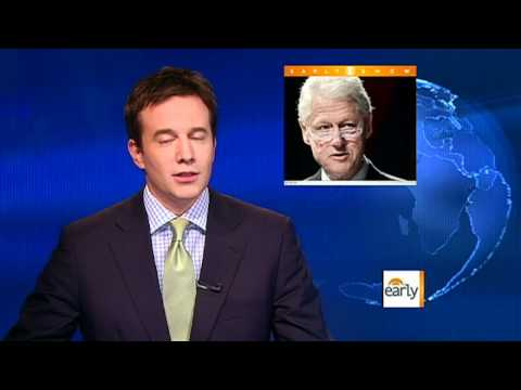 The Early Show - Bill Clinton goes vegan on 65th birthday