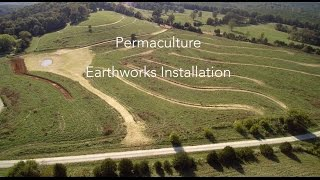 Hawk's Journey Farm Permaculture Earthworks Installation